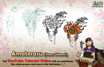 Amaterasu (Okami) - Mink's Tutorials (YouTube) by Minks-Art