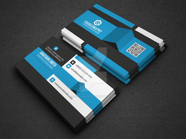 Modern Corporate Business card On Graphicriver by Cristalpioneer