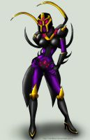 TFA - Blackarachnia by Vani-Fox