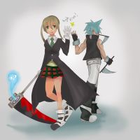 Soul Eater High Five! by Daidus