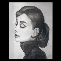 Tribute to Audrey Hepburn by AevalCelt