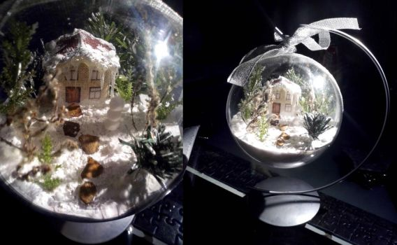 Christmas bauble 3D by Wiki7