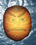 Kabuki-face cookie by Master-Kankuro