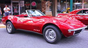 Topless Corvette by StallionDesigns