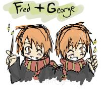 HP - Fred and George by TeamRocket