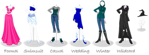 Fashion Runway Outfits by MiyakoShields