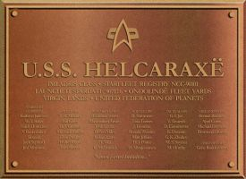 Helcaraxe plaque by davemetlesits