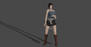 JILL RESIDENT EVIL 3 OUTFIT by Oo-FiL-oO