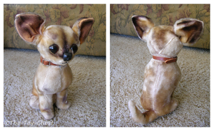 Vintage Kamar Chihuahua Plush by The-Toy-Chest