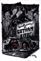Gotham City - Rockabilly Universe by DenisM79