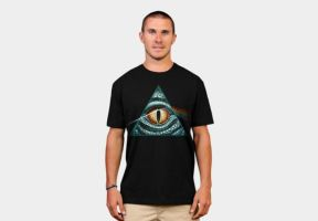 Illuminati T-shirt by catpuck