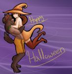 Halloween Commission for PeculiarLilliputian by ViridianSoul
