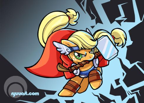 apple uh thor? by alienfirst