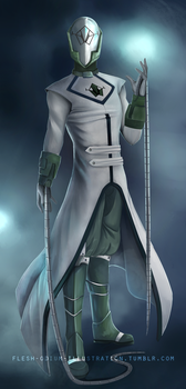 Tyralin Priest (soft shade commission) by Flesh-Odium