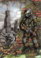 Metro Last Light - Ranger by Tadeu-Costa