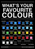 What's Your Favourite Colour by fudgegraphics