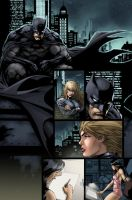 batman Ed Benes color practice by SpicerColor