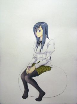 Hanako (Progress Shot) by ClayInTheCarpet