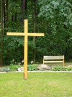 Wooden Cross by Myrthilla