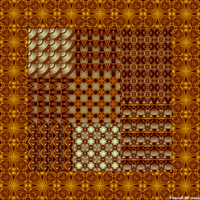 Ultrafractal Patchwork by fraxialmadness3