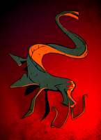 DnDrawings 16: Aboleth by facesfilledwithflies