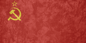 Soviet Union (USSR) ~ Grunge Flag (1923 - 1955) by Undevicesimus