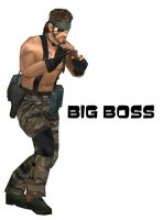 MGS3-BIG BOSS by xUmbrellaCo