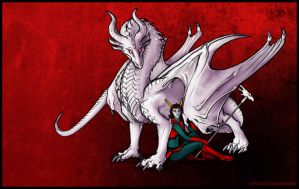 Pyralspite and Redglare by Lenalis