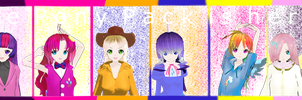 MMD Pony Pack DOWNLOAD by MoonTheBlueNeko