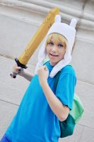 Finn Adventure Time 02 by LauzLanille