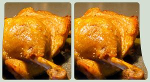 Sunday's Roast 3D ::: HDR Cross-Eye Stereoscopy by zour