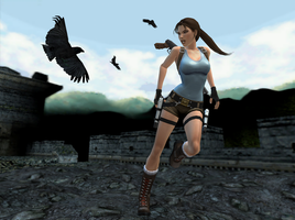 Tomb Raider II - Great Wall by sk8terwawa