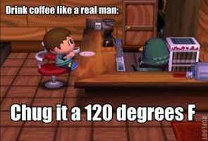 REAL MEN'S COFFEE by Cybeam100