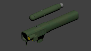 M-289 Dhanush Tactical Missile Launcher by wbyrd