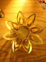 Lotus Blossom Candle Holder by NovaShadows