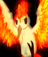 Poke-Feature Moltres by thedazedartist