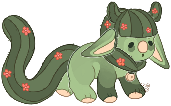 [closed/auction] Cactus Child by peepkid