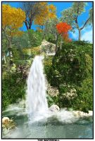 Xeo waterfall by x4