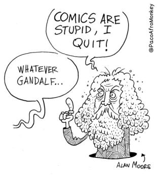 Goodbye Alan Moore by PacoAfroMonkey