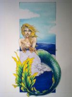 WIP - L the Mermaid - color1 by crazytenor