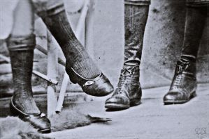 Old fashion Shoes by PandaWicked