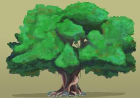 Tree Paint Sketch by Dre788