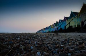 Beach huts by RyanTrevorPhoto