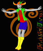 Trickster!Tavros by graphicalCatharsis