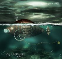 Steampunk Fish by CaryAndFrankArts