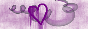 My Bleeding Purple Heart by Nebulous62