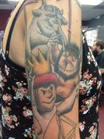 Where The Wild Things Are sleeve by xxInkxPrincessxx