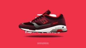 New Balance 1500 Made in New England 'Burgundy' by BBoyKai91