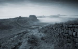 Hadrian's Wall 2 by welshdragon