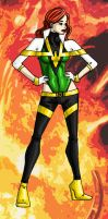 Jean Grey - Redesign by jelloconcoction